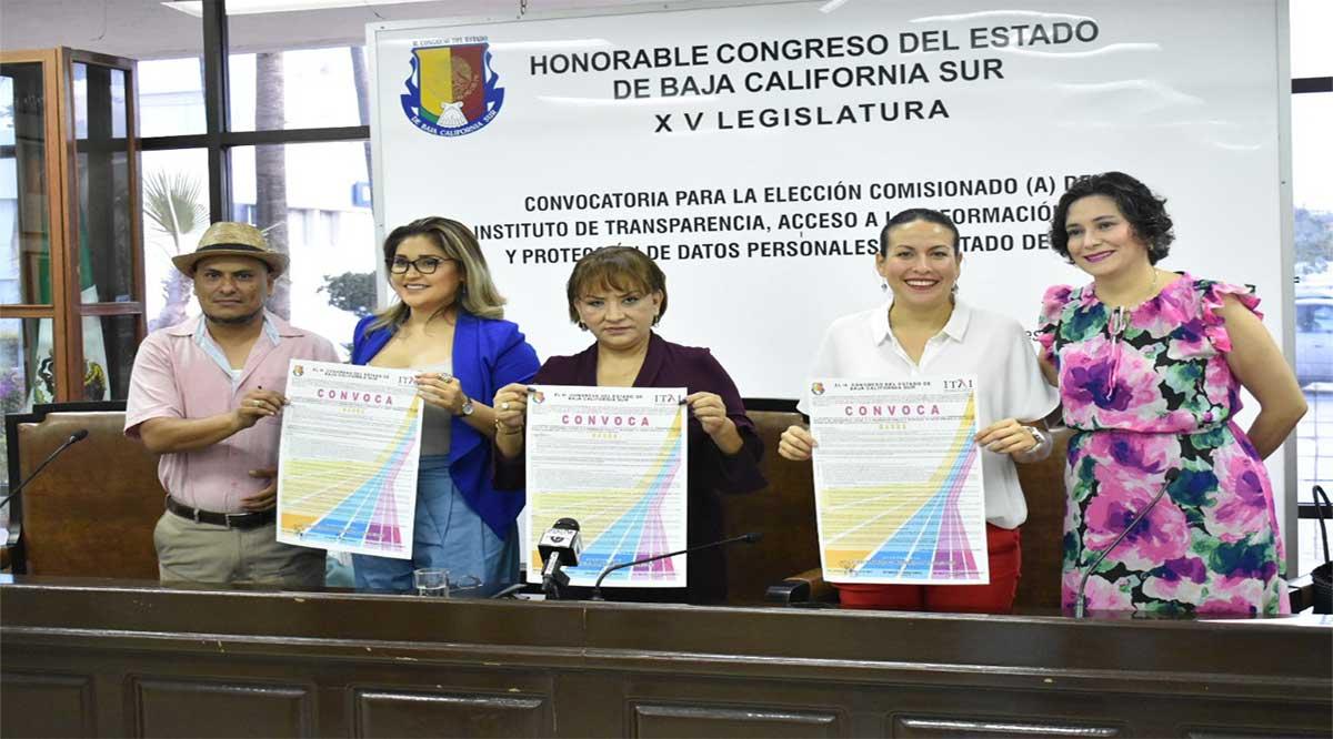 Emiten convocatoria para elegir comisionado del ITAI de BCS
