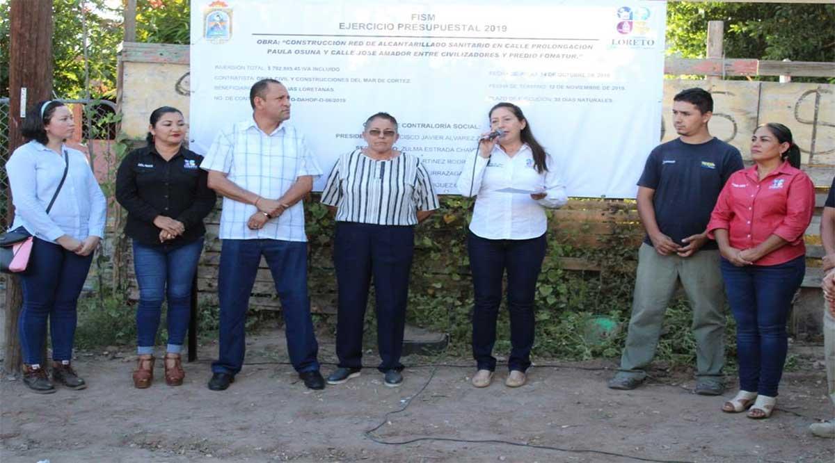 Arranca obra de alcantarillado sanitario que cubrirá el 100% de la colonia Zaragoza en Loreto