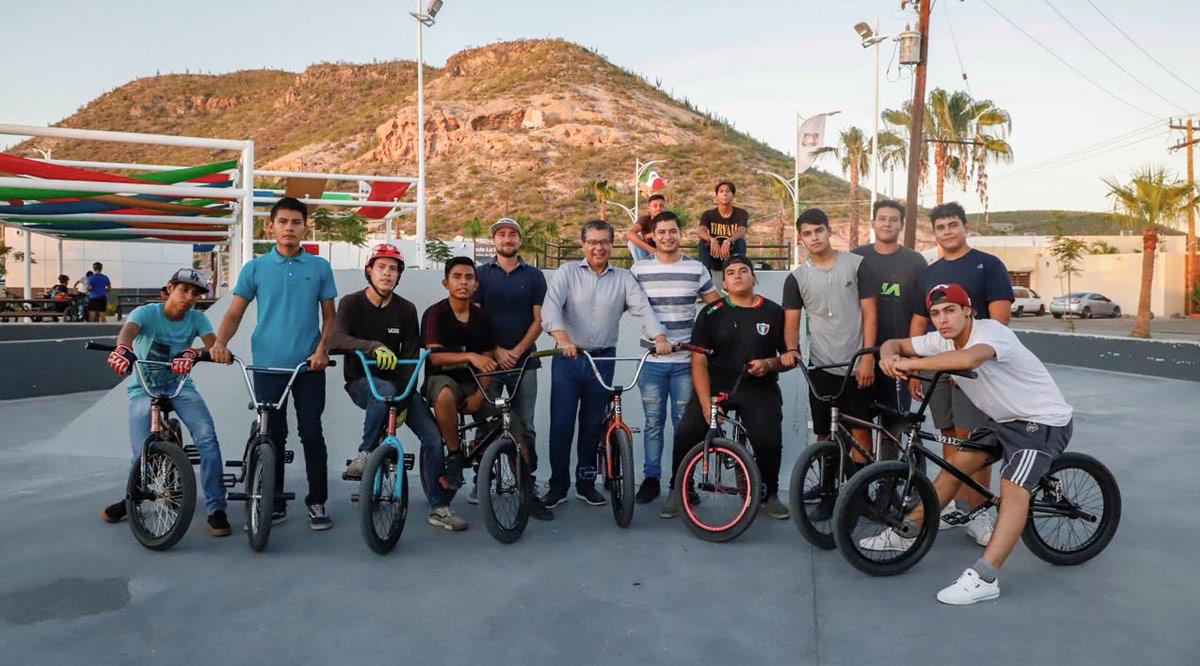 Fomentan prácticas del deporte las instalaciones del parque BMX