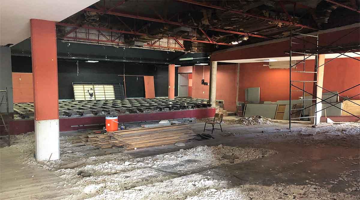 Remodelan el teatro del Insude
