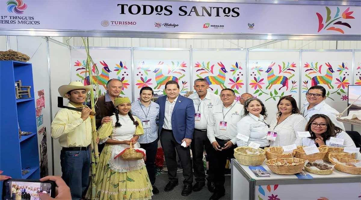 Presentes Todos Santos y Loreto en Primer Tianguis Turístico de Pueblos Mágicos