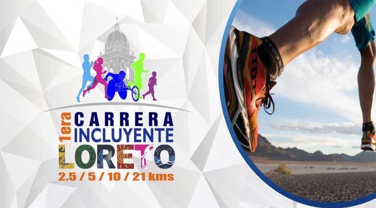 Se acerca fecha de la I Carrera Incluyente 21K Loreto 2019
