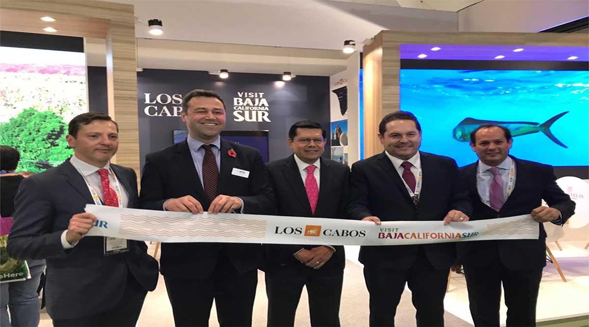 Se inauguró la Feria de Turismo de Londres y se acerca fecha del  vuelo de ese país a Los Cabos
