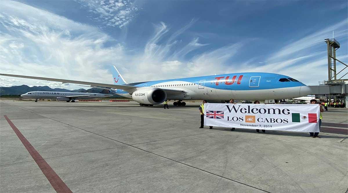 Generará vuelo Londres-Los Cabos un flujo de 35 mil visitantes al año