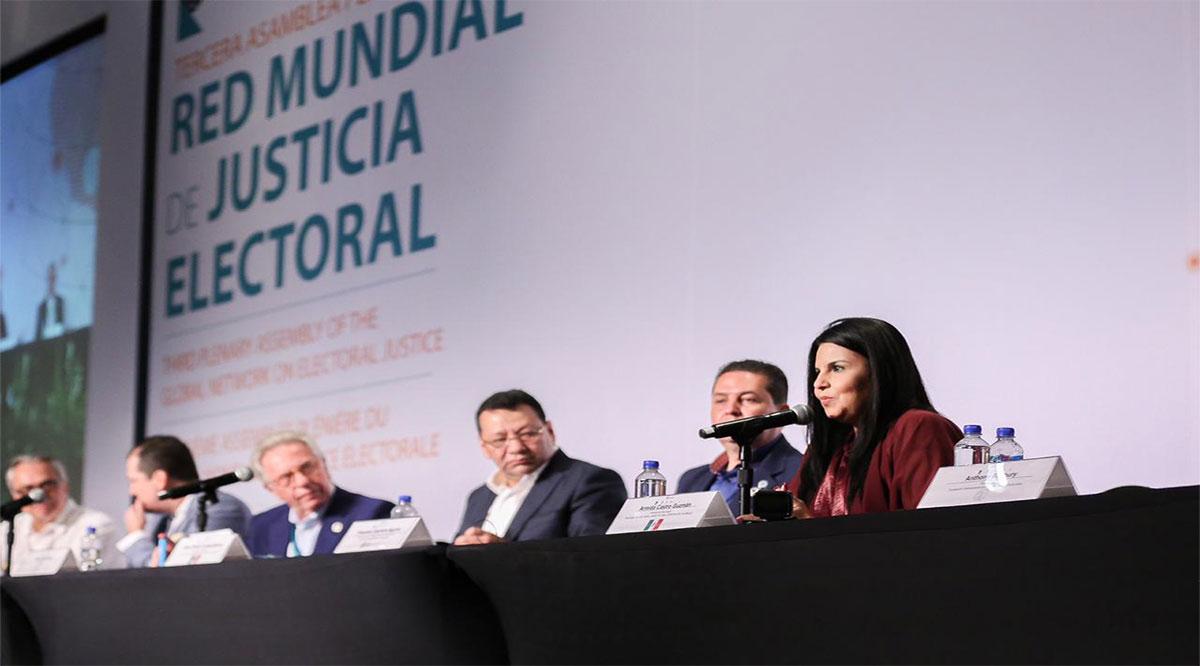 Sede Los Cabos de más de 107 representantes de diferentes países de la Red Mundial de Justicia Electoral