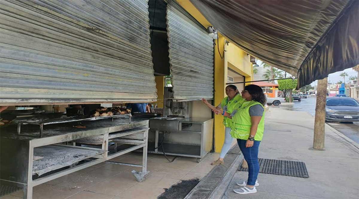 Suspende Coepris venta de comida en vía pública de CSL en donde haya derrames