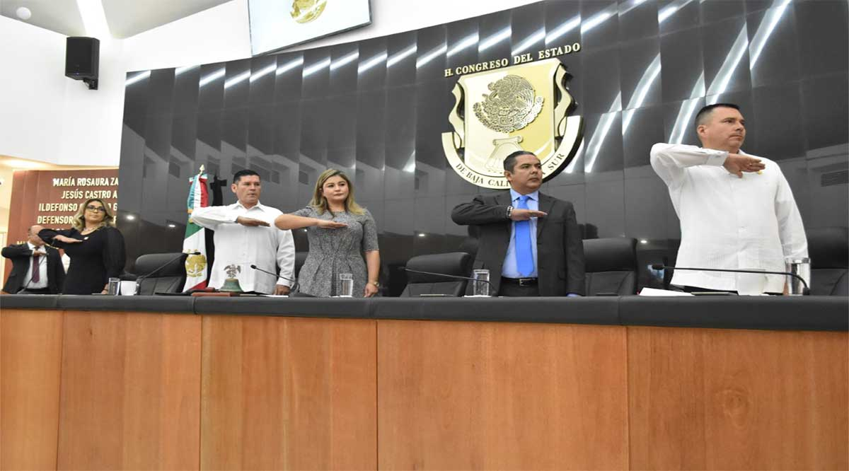 Reeligen en el Congreso del Estado a la diputada Viviana Rubio como Presidenta de la Mesa Directiva