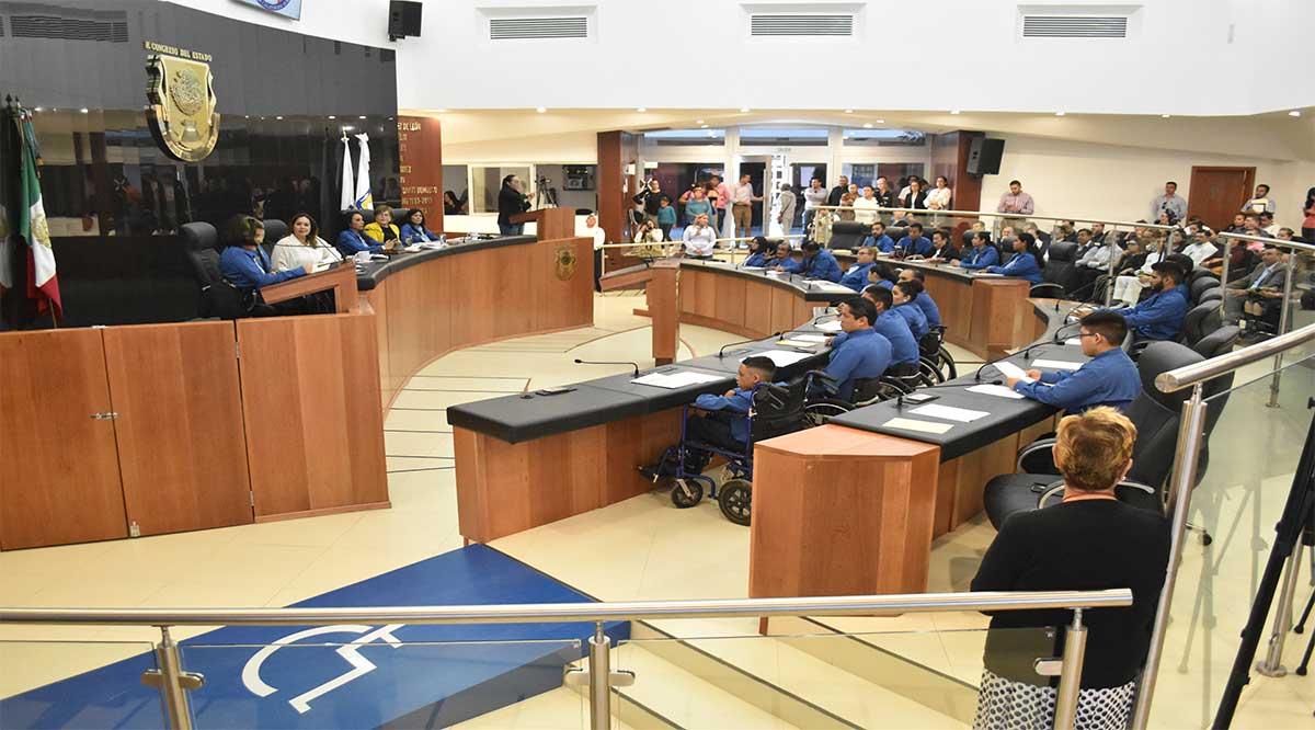 Sin diputados de Morena se realizó el Parlamento de personas con discapacidad; piden 5% de candidaturas