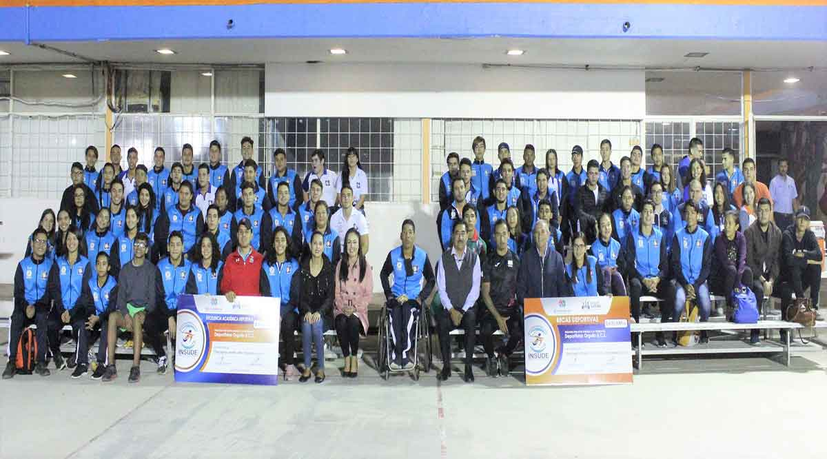Recibieron becas y estímulos 154 deportistas de BCS