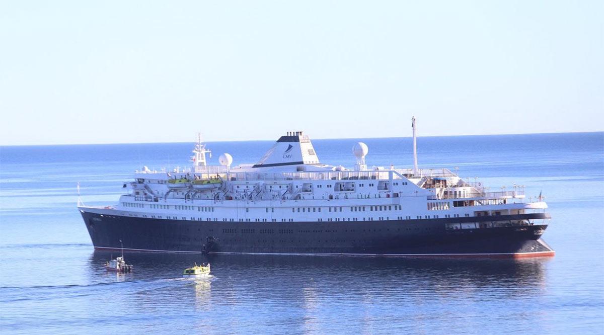 Regresó Santa Rosalía como destino de cruceros
