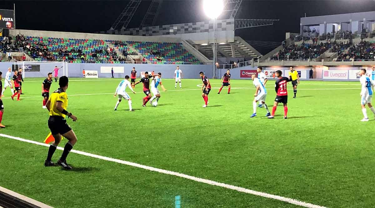 Se impone La Paz F.C. 2-0 sobre el Club Cuervos