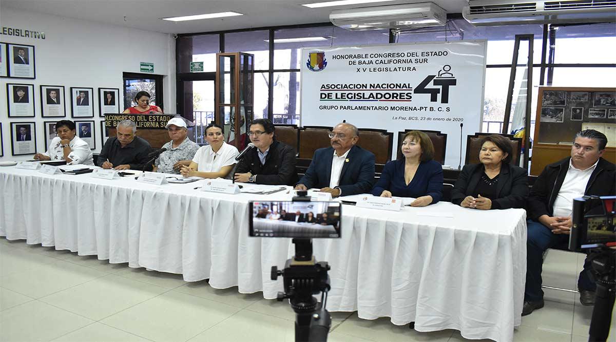 Diputados locales de Morena se suman a la Asociación de Legisladores de la 4T