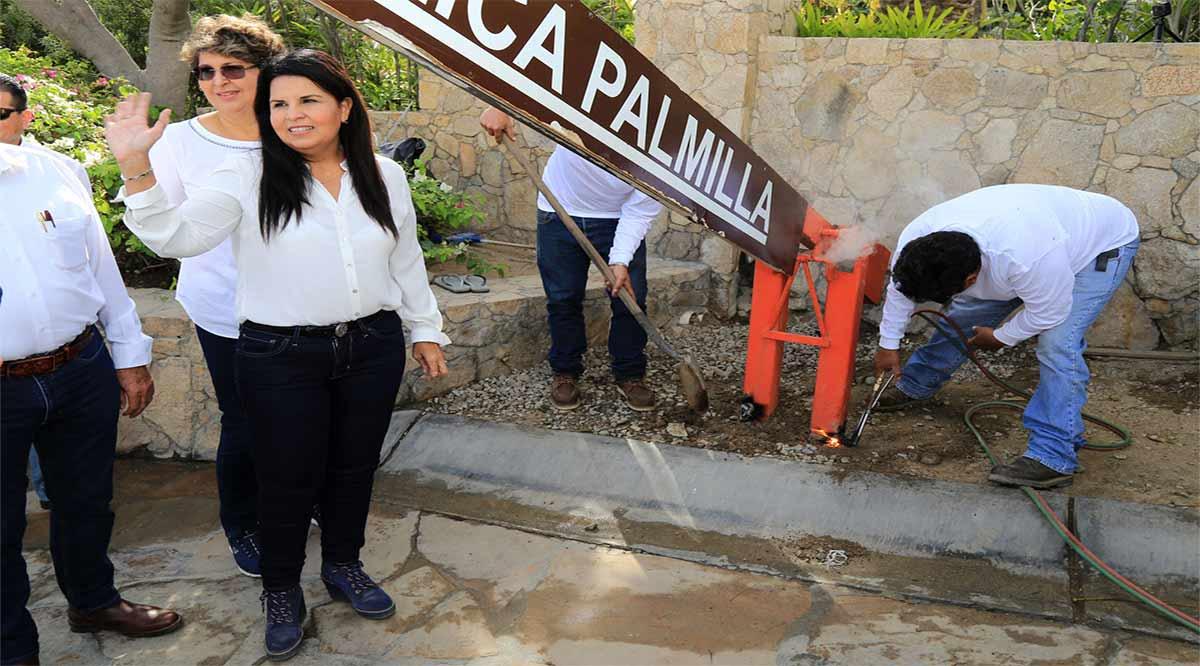 Confirma regidora Rodríguez amparo promovido por suspensión de construcción de la caseta en Palmilla