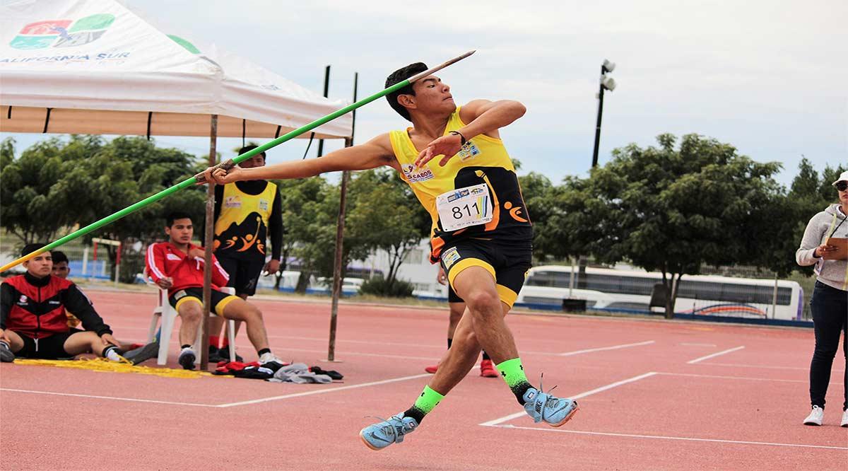Se queda Los Cabos con el primer lugar en atletismo