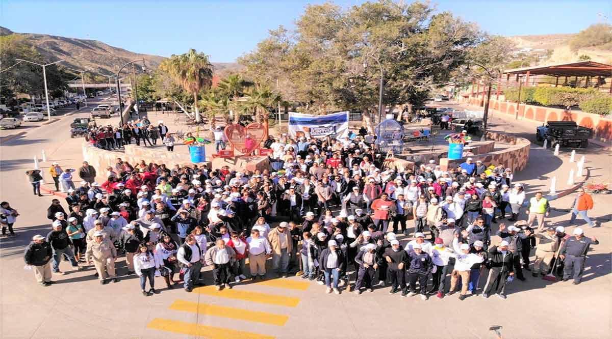 Se realizó Primera Gran Cruzada de Limpieza en Santa Rosalía