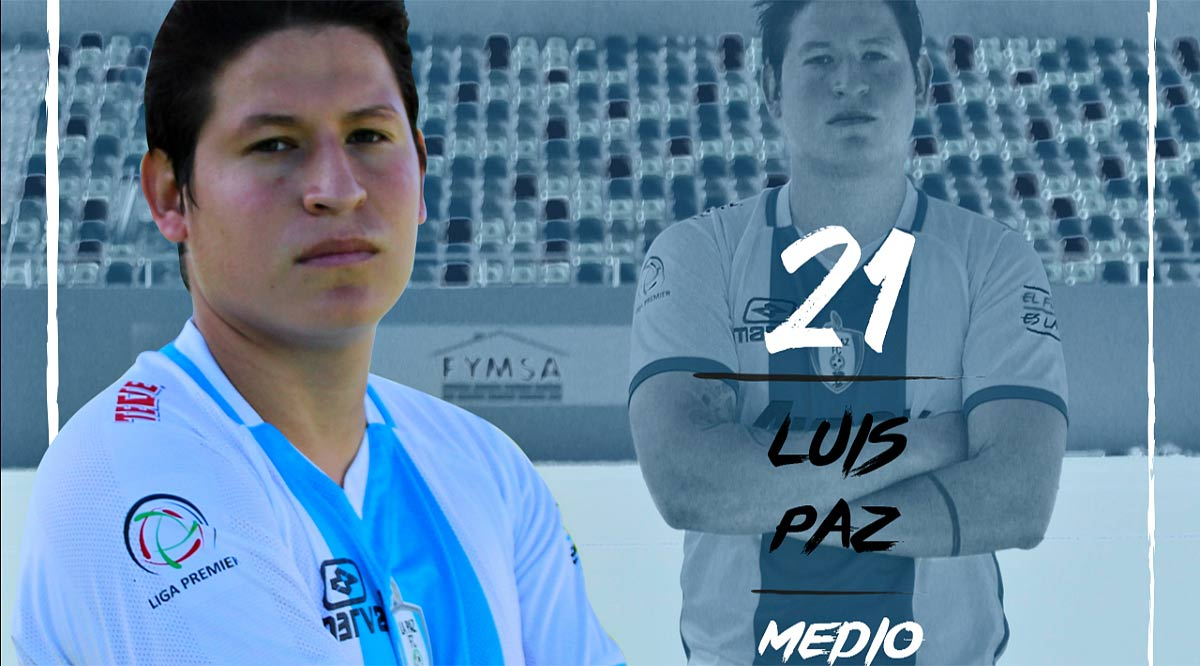 Reporta La Paz F.C. a Luis Paz con fractura de peroné; se perderá la temporada