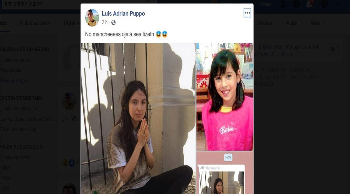 Provoca reacciones en redes sociales foto de argentina con parecido físico a Lisset Soto
