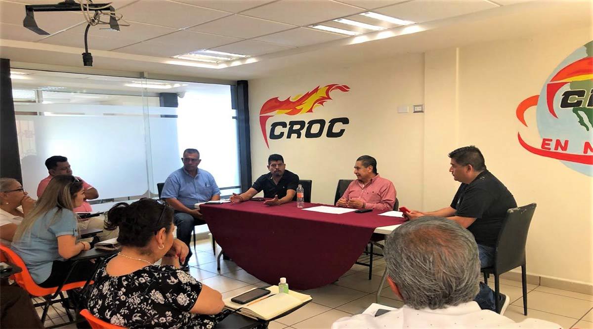 Defenderá CROC las fuentes de empleo y el salario del trabajador