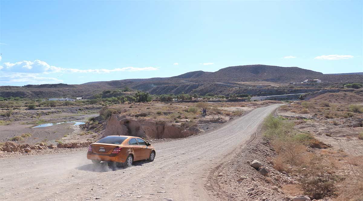 Se han atendido más de 670 km de caminos en Mulegé