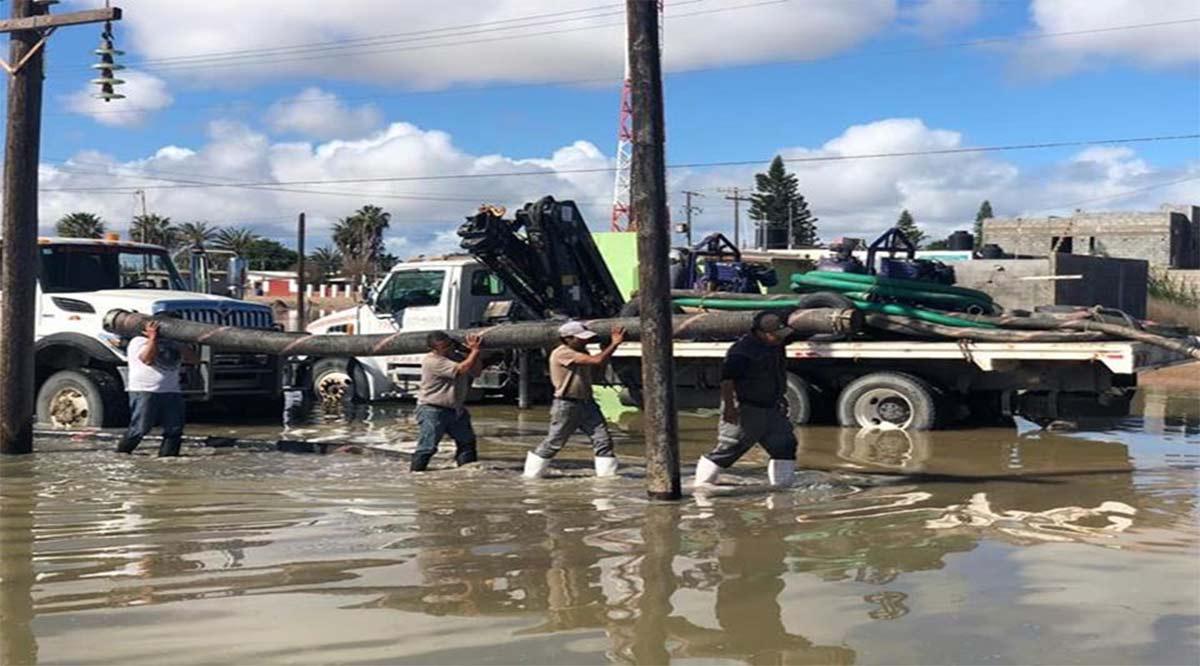 Emiten Declaratoria de Emergencia en Mulegé tras lluvias
