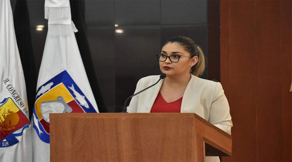 Asumió la diputada Montaño la Presidencia de la Junta de Gobierno y Coordinación Política