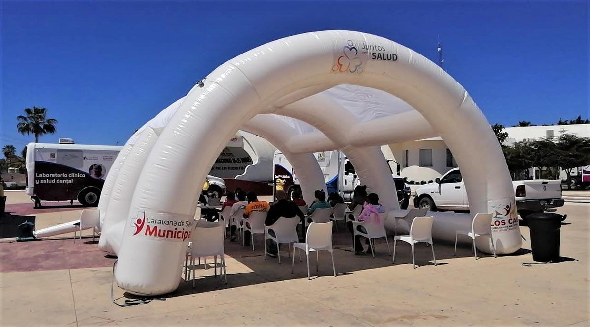 Opera la Caravana de la Salud en Los Cabos de manera especial por el Covid-19
