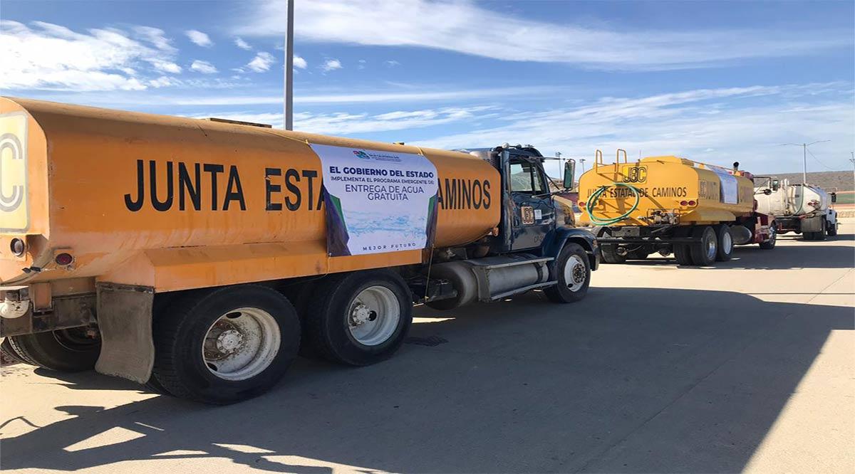 Entregan agua potable a familias de Los Cabos por contingencia sanitaria