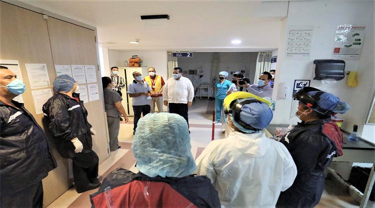 Se habilitará como unidad Covid el Hospital General de CSL