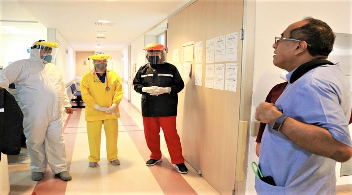 Cuentan hospitales de Los Cabos con áreas definidas para atención de pacientes Covid-19