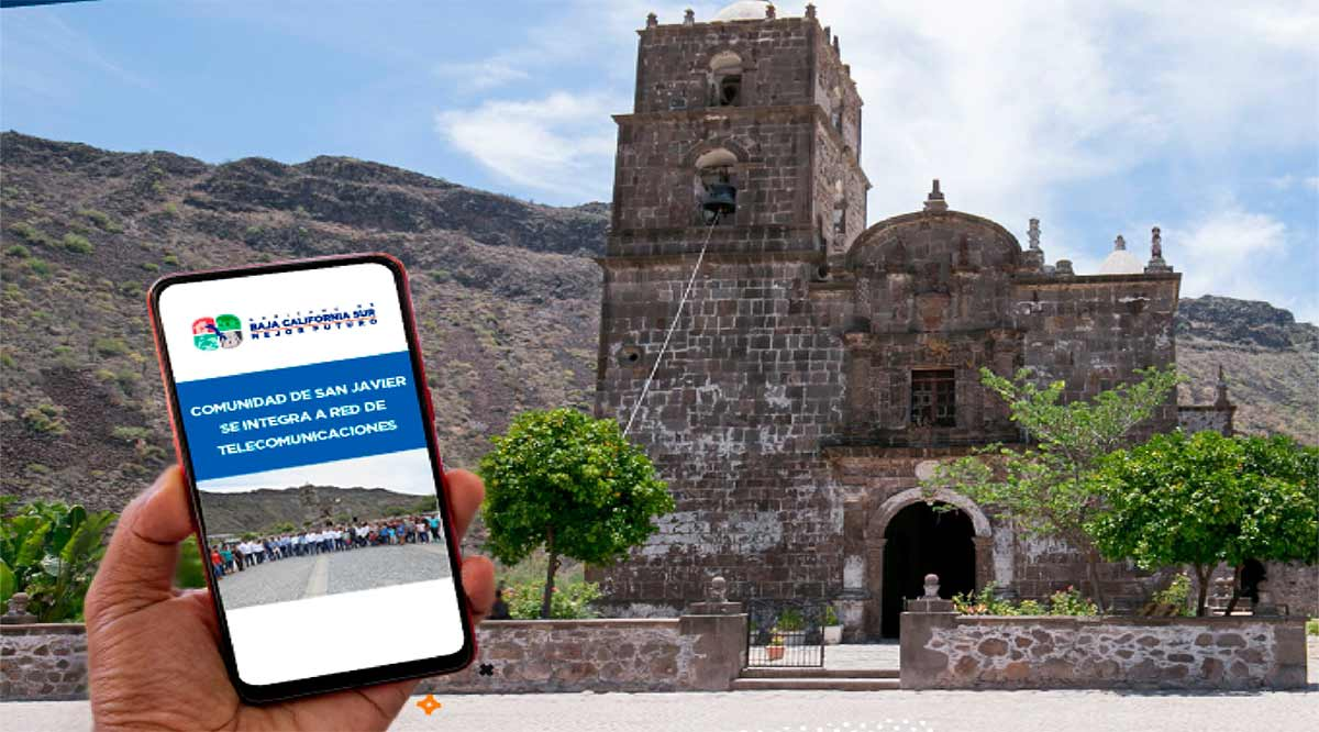 Impulsa actividades productivas el internet satelital de San Javier