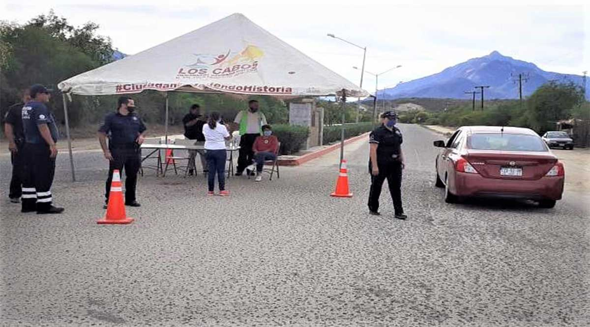 Instalan en la Delegación de Miraflores puesto de control sanitario por Covid-19