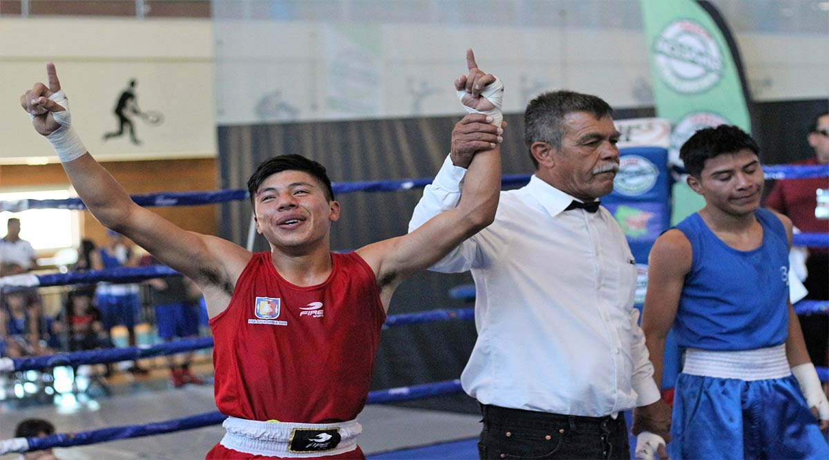 """Va """"Paqueadito"""" Sánchez por refrendar el título nacional de box"""