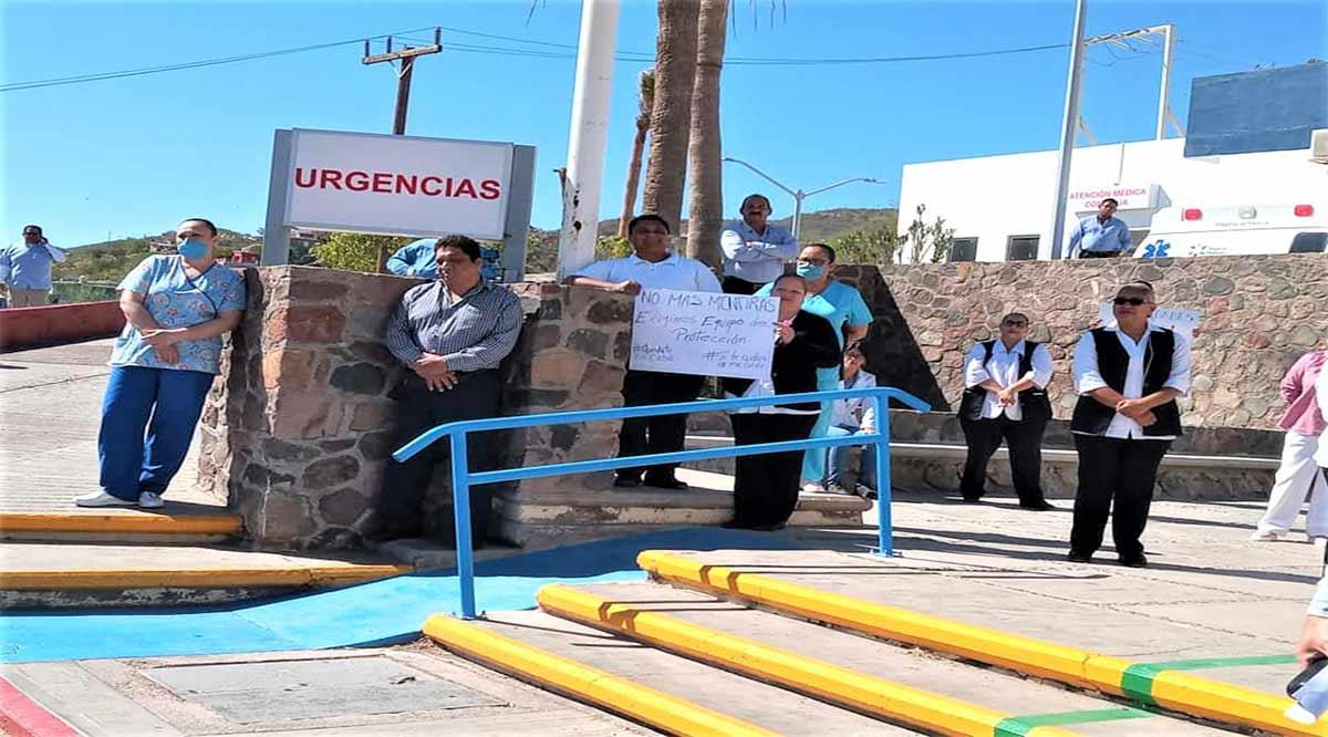 Trabajadores de SSA en Santa Rosalía denuncian falta de equipos para enfrentar el Covid-19