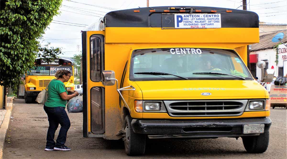Transporte público sólo operará durante horas pico a partir del lunes en La Paz