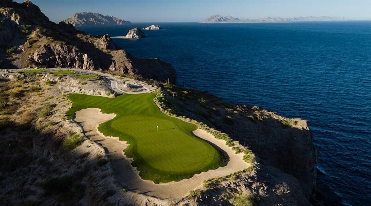 Reconocen campo de golf Danzante Bay