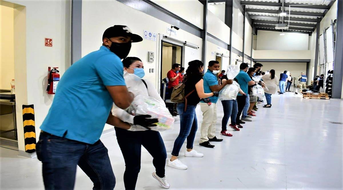 Suman 4,000 despensas Grupo Coppel y su Fundación en apoyo comunitario a Los Cabos