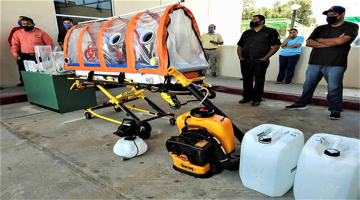 Entregaron equipos de protección personal a trabajadores del IMSS en el norte de BCS