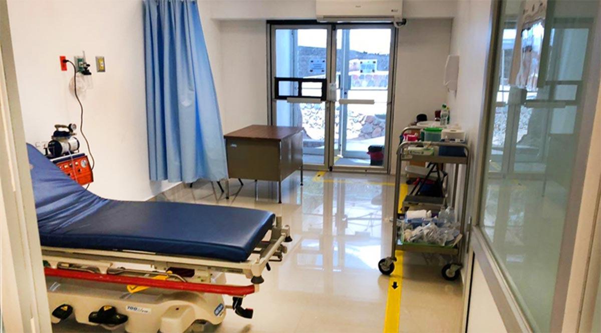 Establecen unidad Covid en hospital de Santa Rosalía