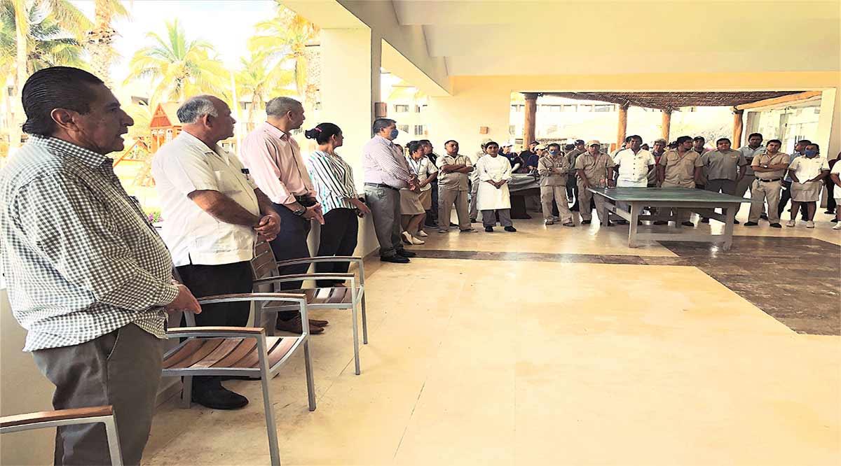 Respalda la CROC a 80 personas que se quedan sin trabajo al cerrar el Holiday Inn Los Cabos