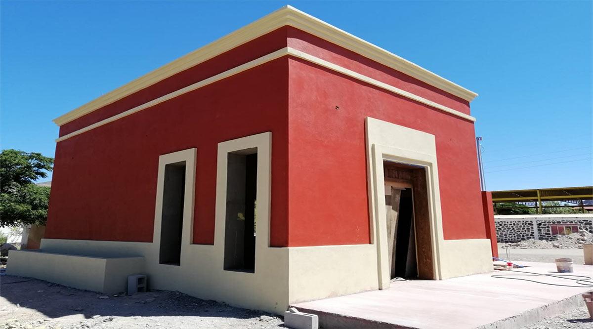 Lleva avance del 95% la construcción de la Comandancia de Policía en La Purísima