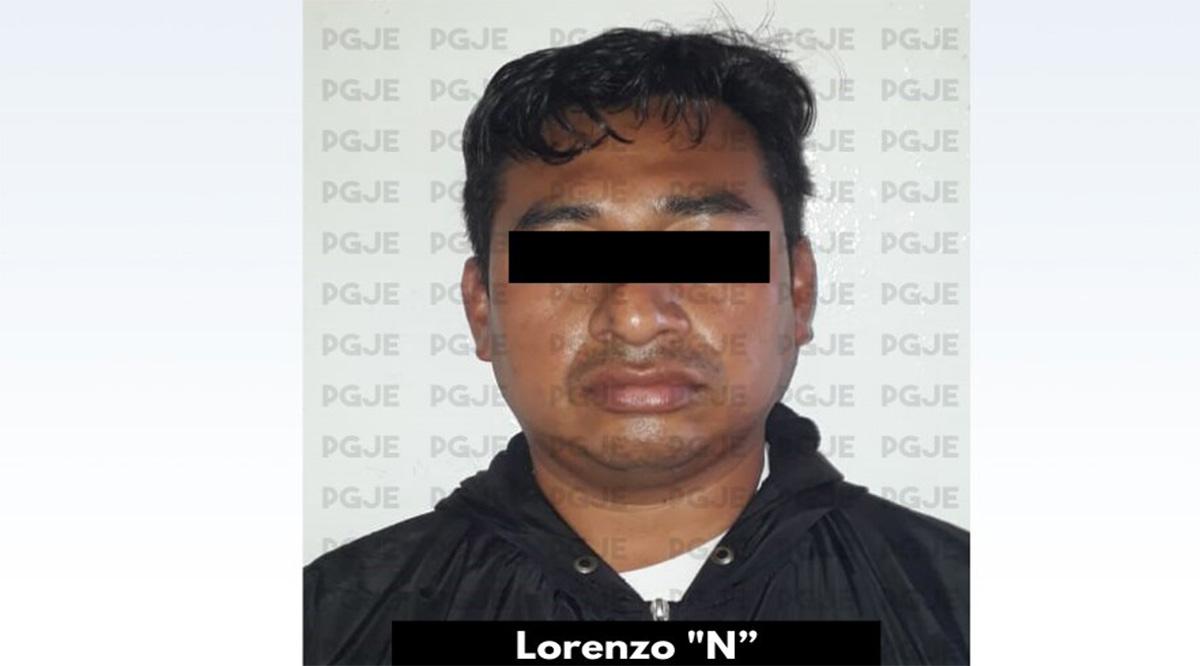 Detienen a sujeto imputado por delito de violación equiparada