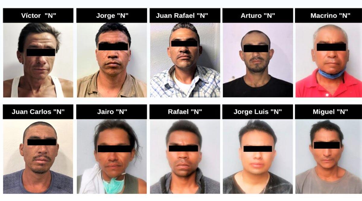 Detienen a 11 personas el fin de semana por la comisión de varios delitos en BCS