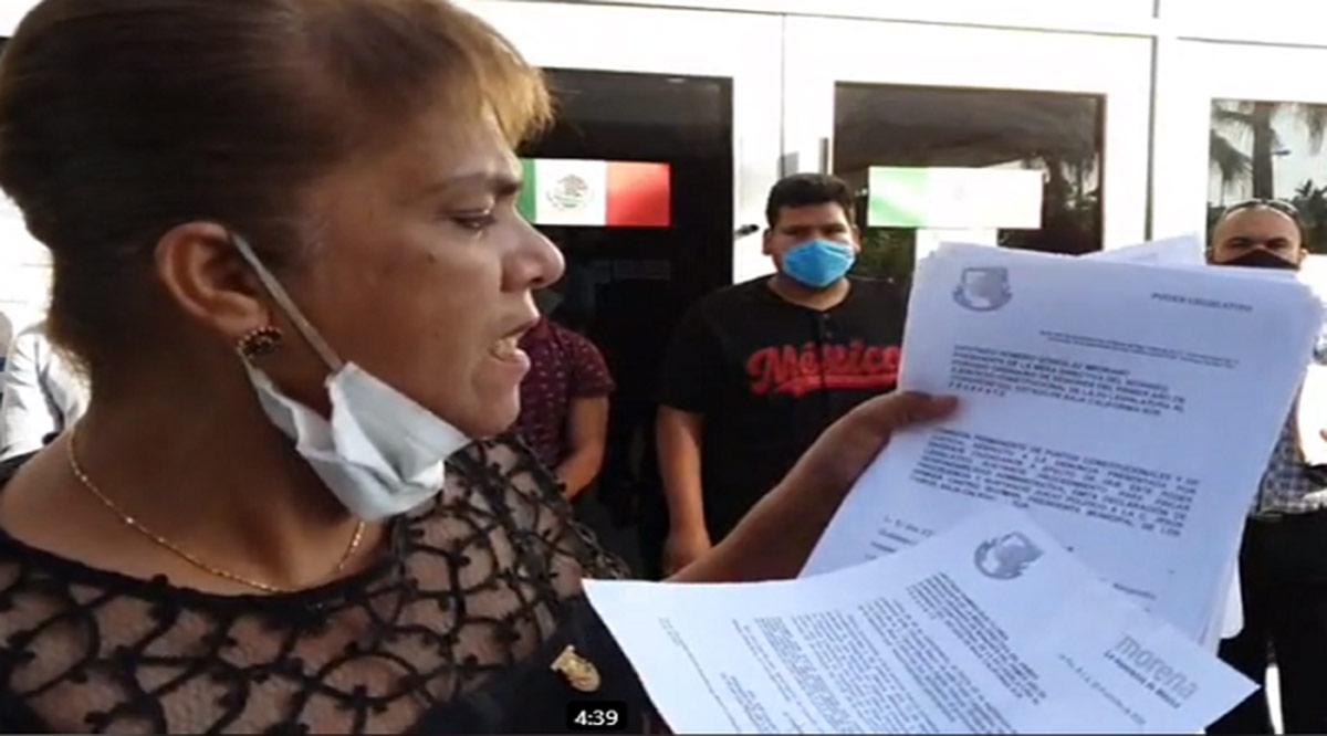 Ocultaron diputados de Morena demanda de juicio político contra Armida Castro