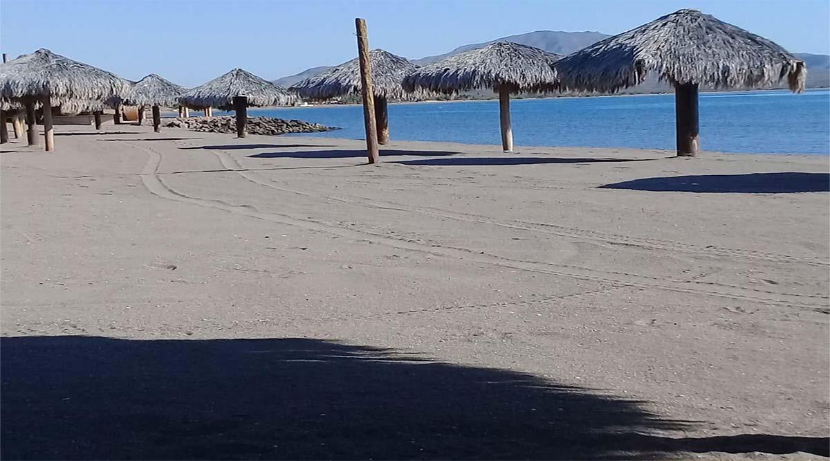 Se preparan en Loreto para apertura de playas