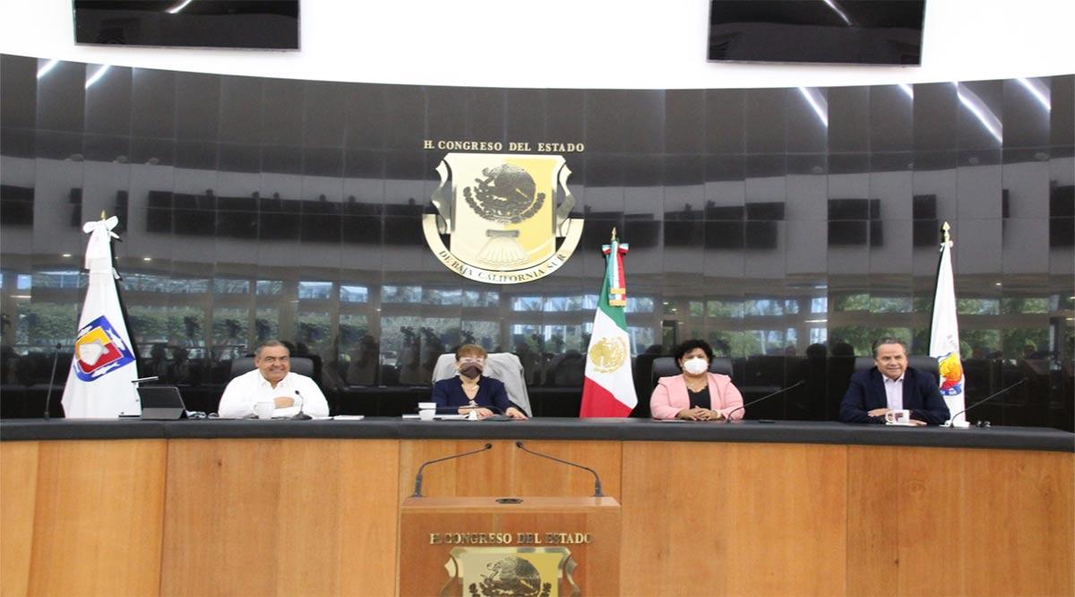 Se anticipa período extraordinario y convocan a sesión extraordinaria en el Congreso de BCS