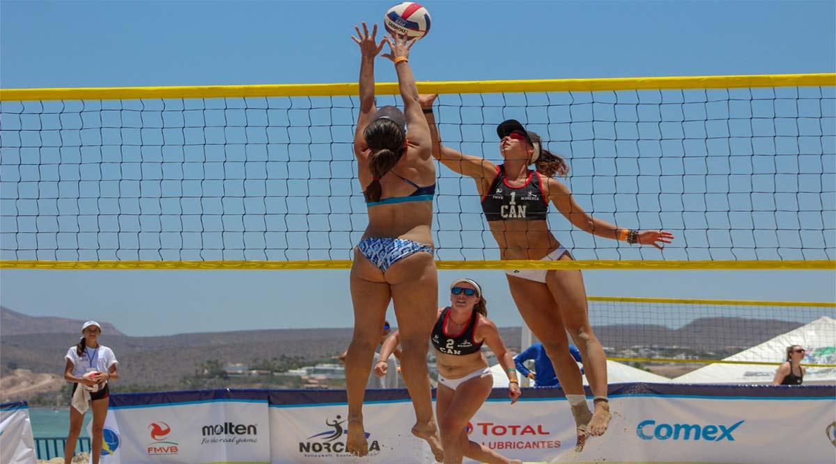 Cancela Norceca el tour de volibol de playa 2020