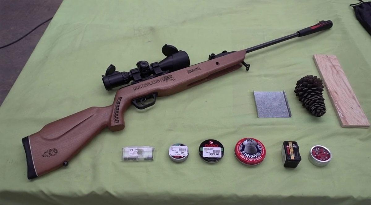 Le intercambiaron rifle de balillas que resultó robado