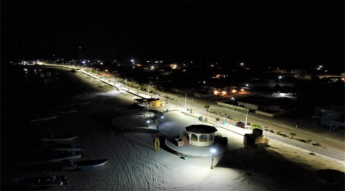 Invirtieron 2.6 mdp en mejoramiento del malecón de Punta Abreojos