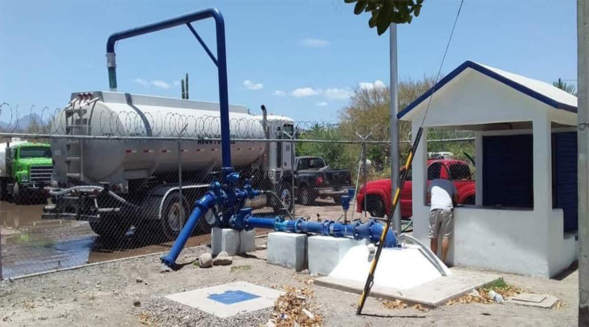 Vía tandeos y en pipas trata el Oomsapas de Loreto reducir problemas de abasto de agua