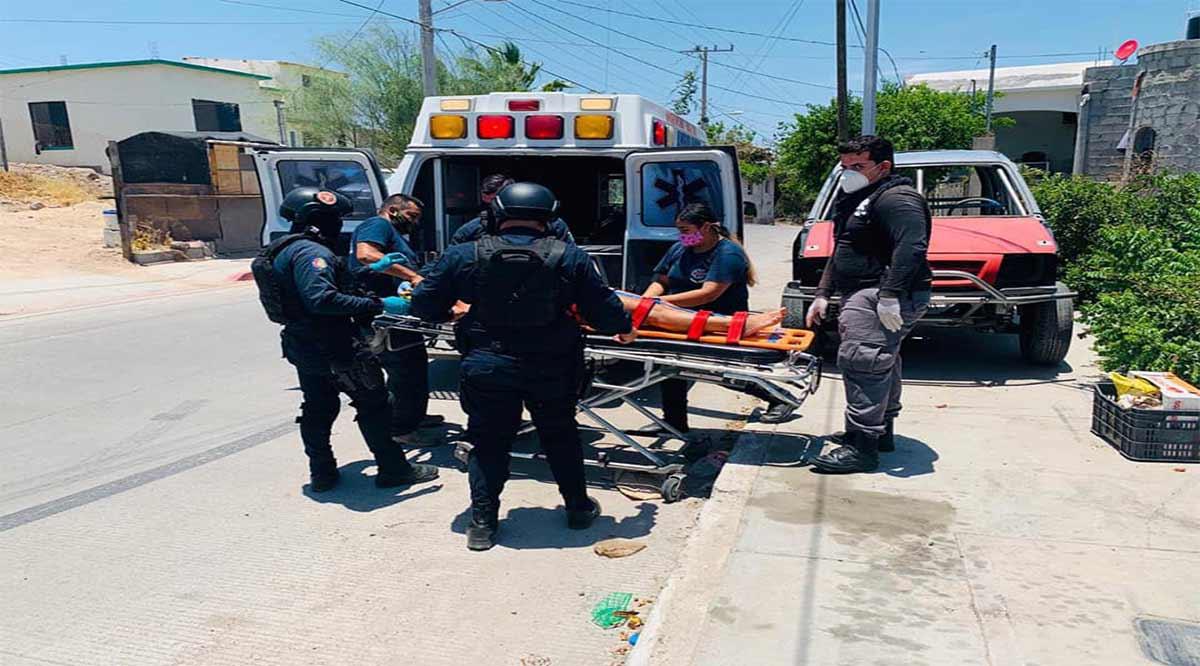 Otorgó la Policía Estatal de BCS en 7 días 38 apoyos en primeros auxilios